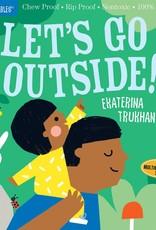 Indestructibles: Let's Go Outside Book