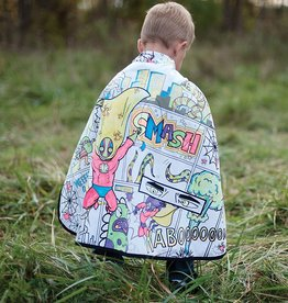 Color-A-Cape Reversible Spider Superhero by Great Pretenders