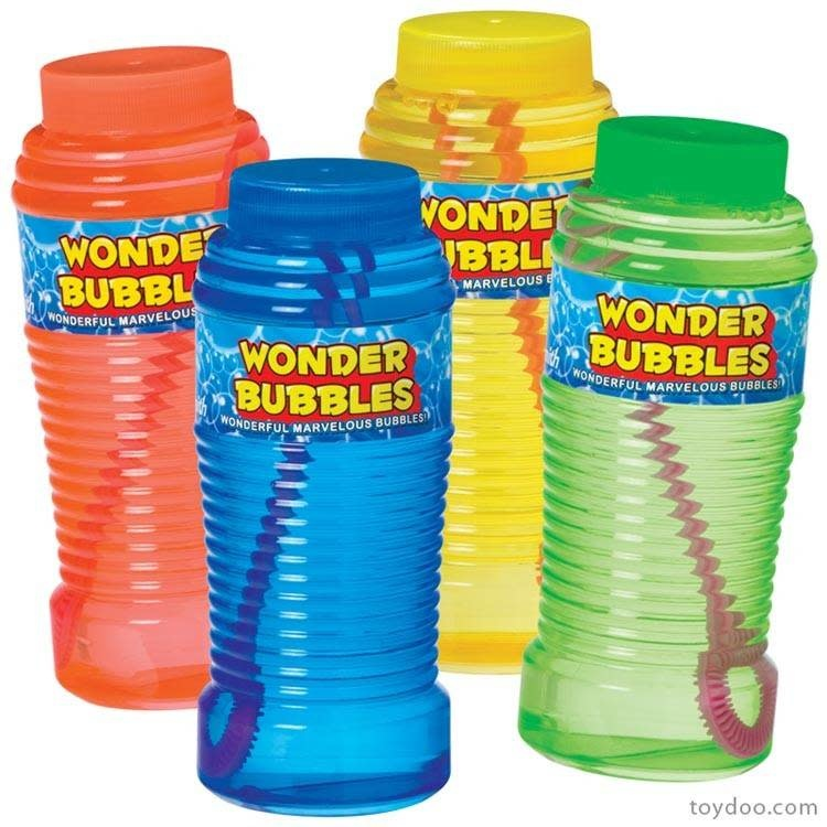 Wonder Bubbles 8 oz Bottle