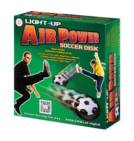 Ultra Glow Air Power Soccer Disk