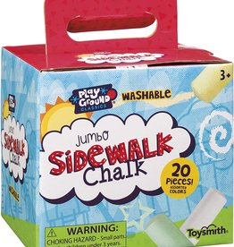 Jumbo Sidewalk Chalk Box by Toysmith