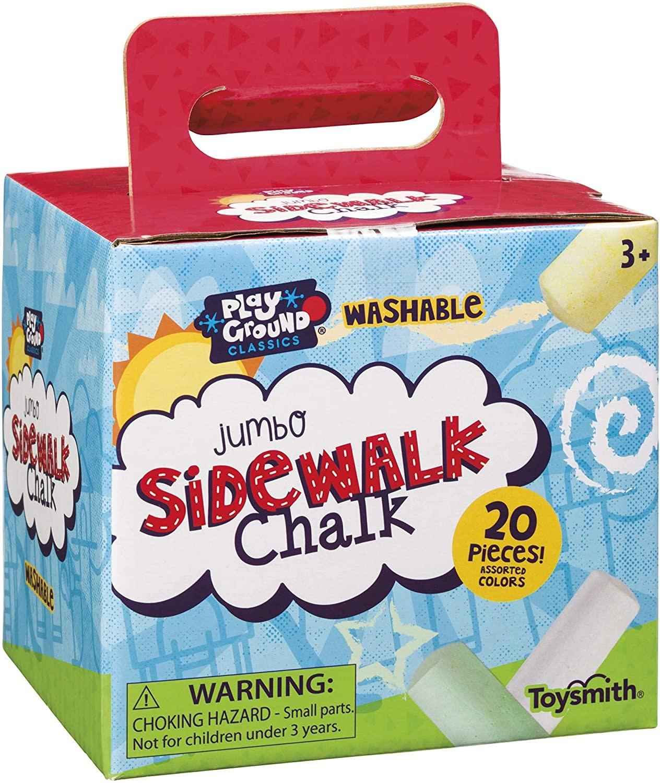 Jumbo Sidewalk Chalk Box by Toysmith