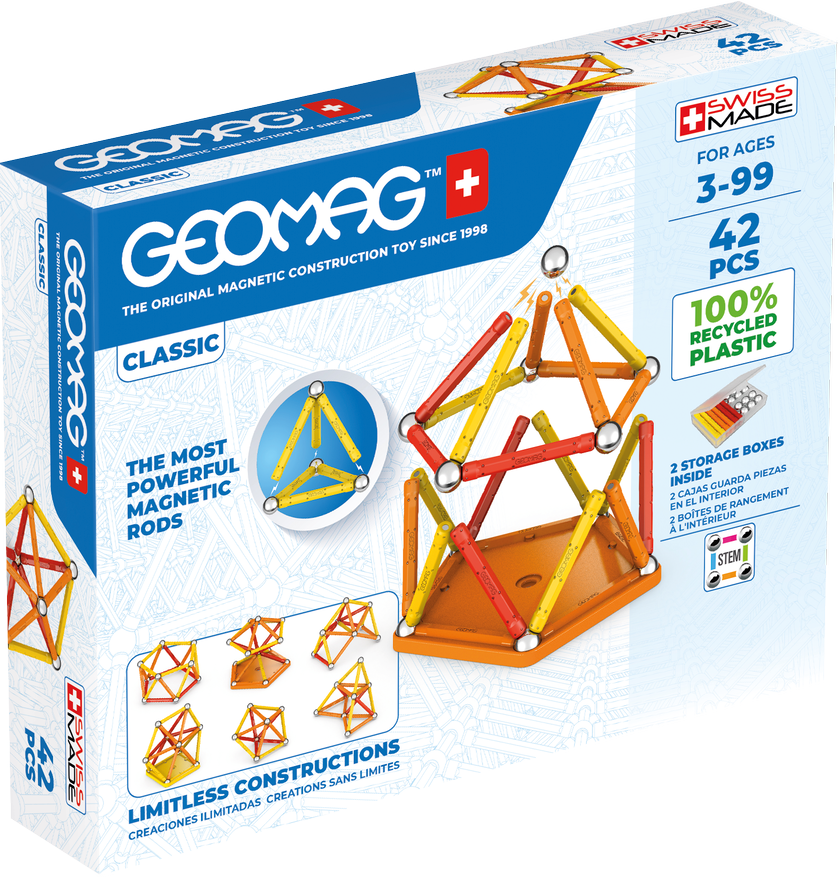 Geomag Classic 42-pc Set - Green Collection
