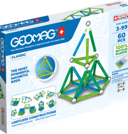 Geomag Classic 60-pc Set - Green Collection
