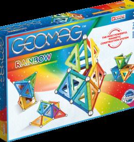 Geomag Rainbow 72-pc Set