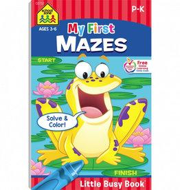 My First Mazes Busy Book by School Zone