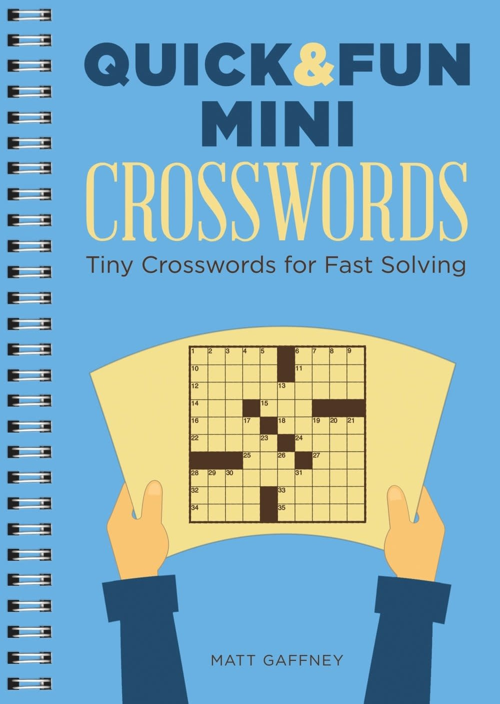 Quick & Fun Mini Crosswords Paperback Book