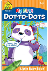 My First Dot-to-Dots Busy Book by School Zone