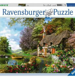 Country Cottage 1500-pc Puzzle by Ravensburger