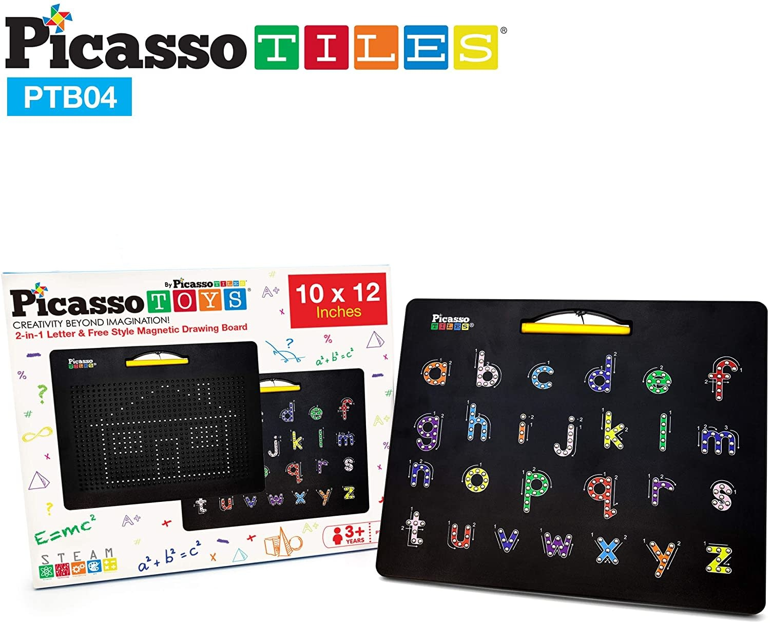Magnetic 2-in-1 Drawing Board by Picasso Tiles