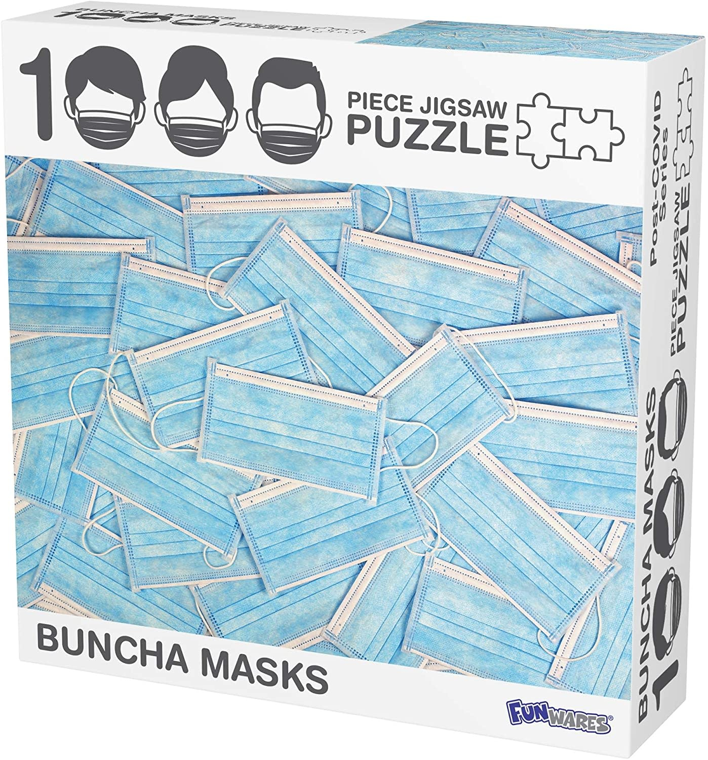 Buncha Masks 1000-pc Puzzle by FunWares