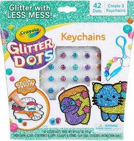Glitter Dots Keychains by Crayola