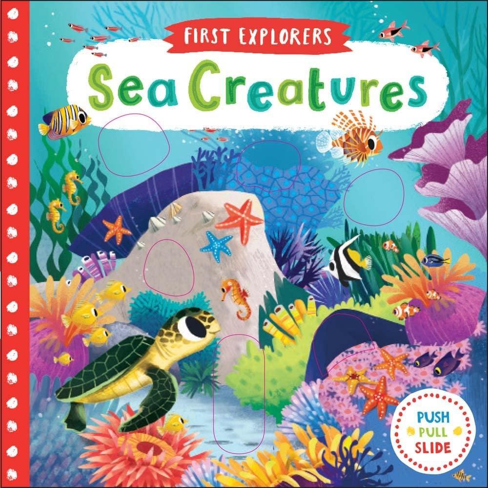 First Explorers Sea Creatures Board Book