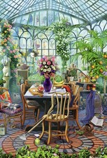 Greenhouse Morning 500-pc Puzzle by Ravensburger