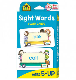 Flash Cards: Sight Words by School Zone