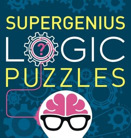 Supergenius Logic Puzzles Paperback Book