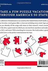 The United States of Puzzles : Word Games, Brainteasers, Trivia, and More!