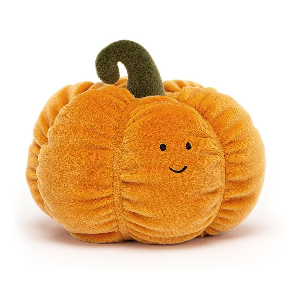 "Vivacious Vegetable 6"" Pumpkin by Jellycat"