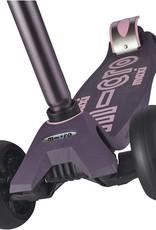 Maxi Deluxe Pro in Purple by Micro Kickboard