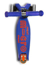 Maxi Deluxe in Blue with LED Wheels by Micro Kickboard