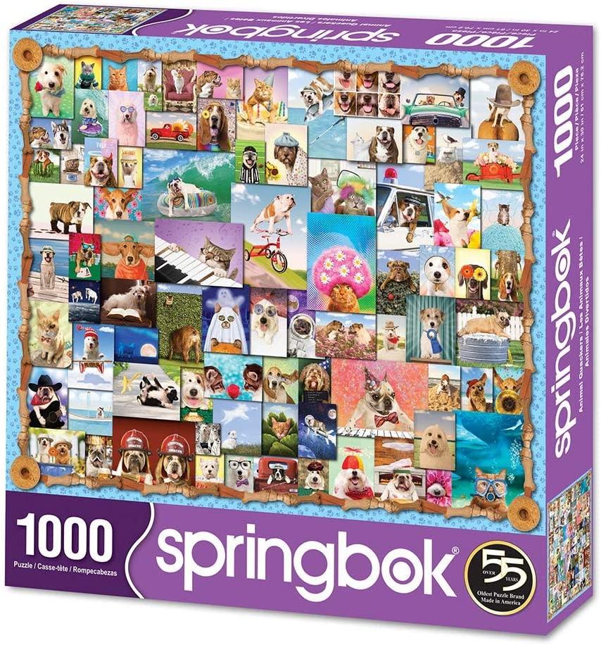Animal Quackers 1000-pc Puzzle by Springbok
