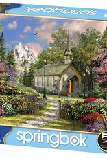 Mountain View Chapel 500-pc Puzzle by Springbok
