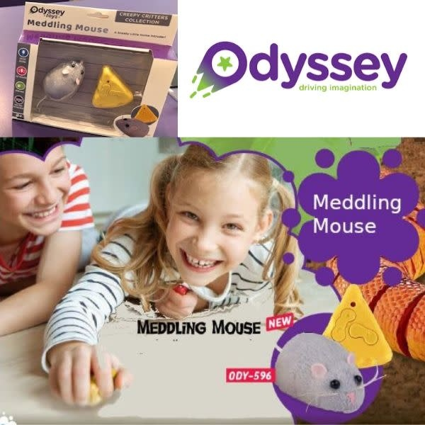 Odyssey Toys RC Meddling Mouse 596 by Odyssey Toys
