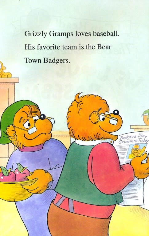 Berenstain Bears We Love Baseball! - I Can Read (Level 1)
