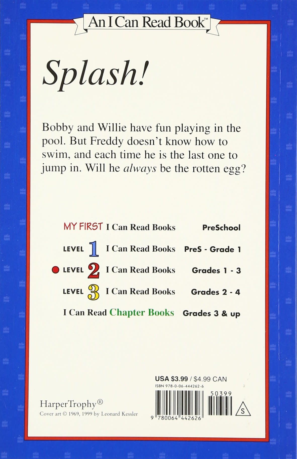 Last One In Is A Rotten Egg - I Can Read (Level 2)