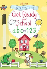 Wipe-Clean Ready For School  Paperback (ABC & 123)