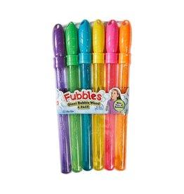 Fubbles Giant Bubble Wand 6-Pack