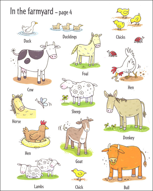 First Sticker Book - Animals by Usborne