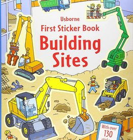 First Sticker Book - Building Sites by Usborne