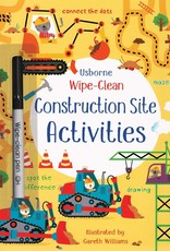 Wipe-Clean Construction Site Activities by Usborne