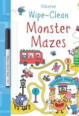 Wipe-Clean Monster Mazes by Usborne