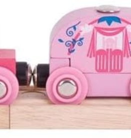 Wooden Princess Train by Bigjigs Toys