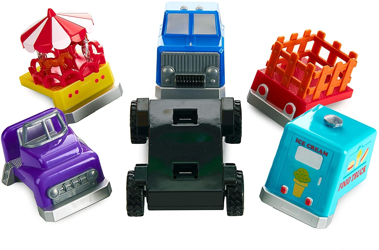 Magnetic Build-A-Truck County Fair by Popular Playthings