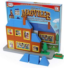 Magville Magnetic Building Block Set by Popular Playthings