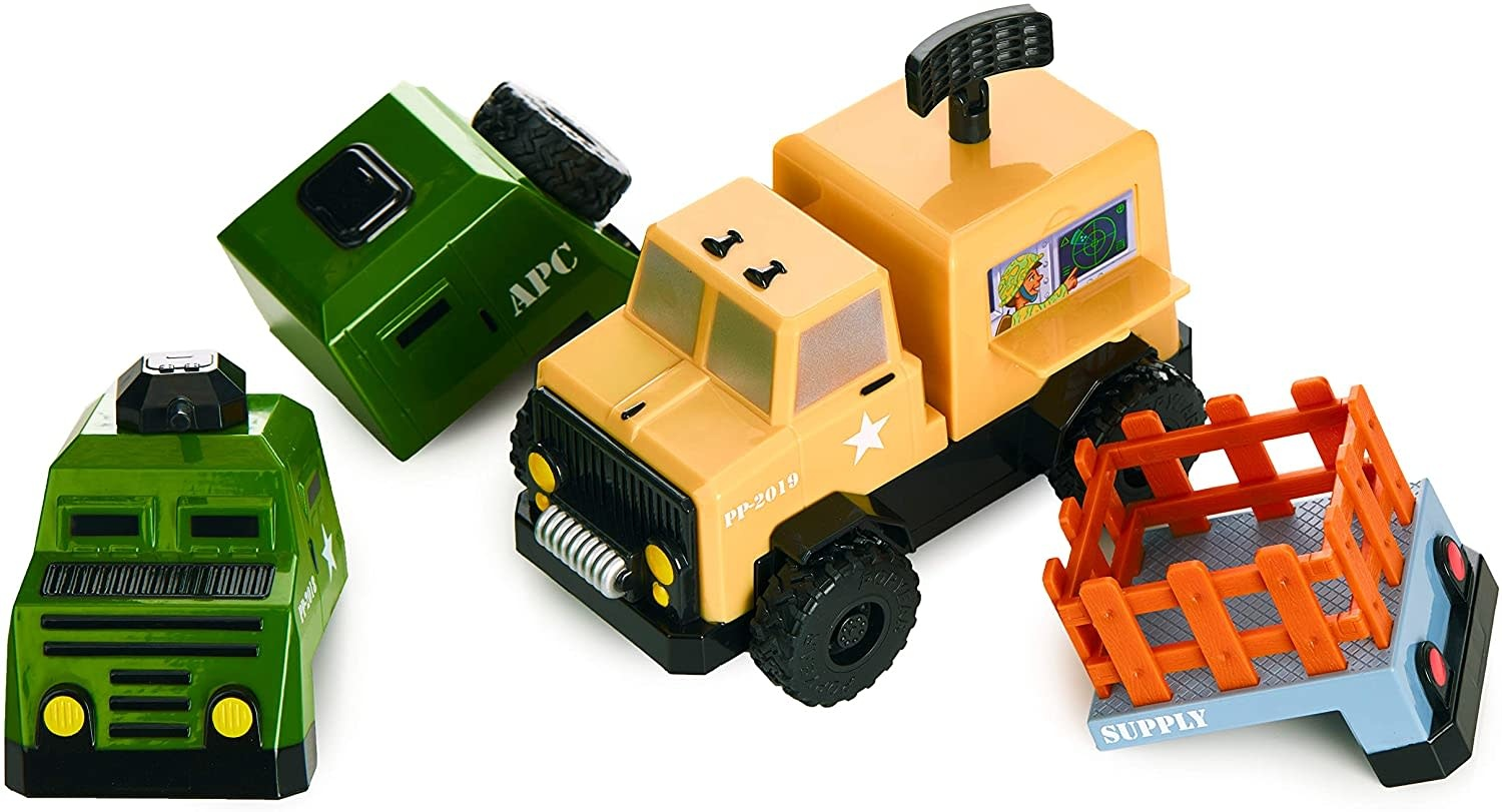Magnetic Build-A-Truck Special Forces by Popular Playthings