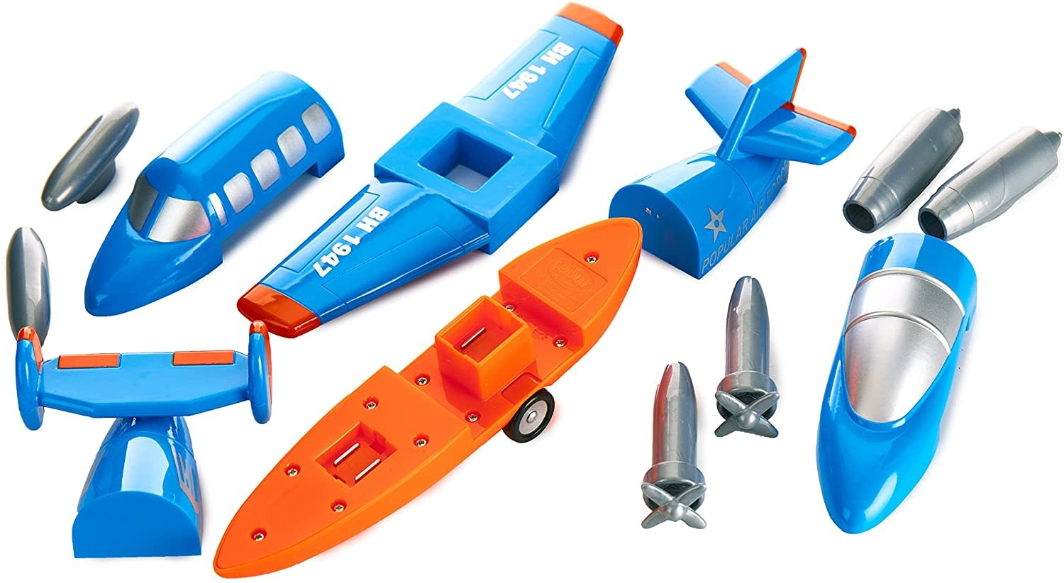 Magnetic Build-A-Plane by Popular Playthings