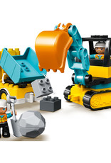 10931 Truck & Tracked Excavator by LEGO Duplo