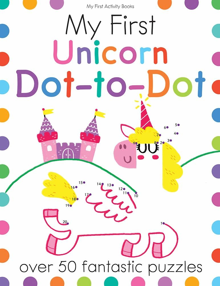BES My First Unicorn Dot-to-Dot Activity Book