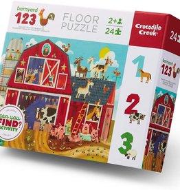 Barnyard 123 24-pc Puzzle by Crocodile Creek