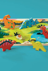 Dinosaurs 16-pc Wood Puzzle by Crocodile Creek
