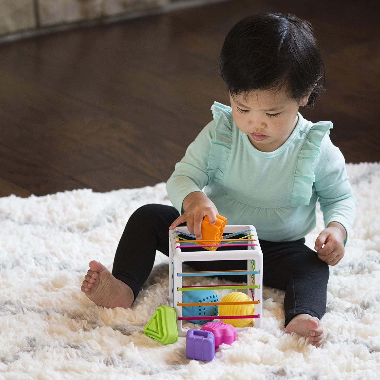 InnyBin Shape-Sorting Cube by Fat Brain Toys