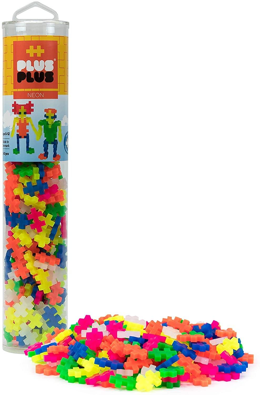 240-pc Neon Mix Colors Tube by Plus-Plus