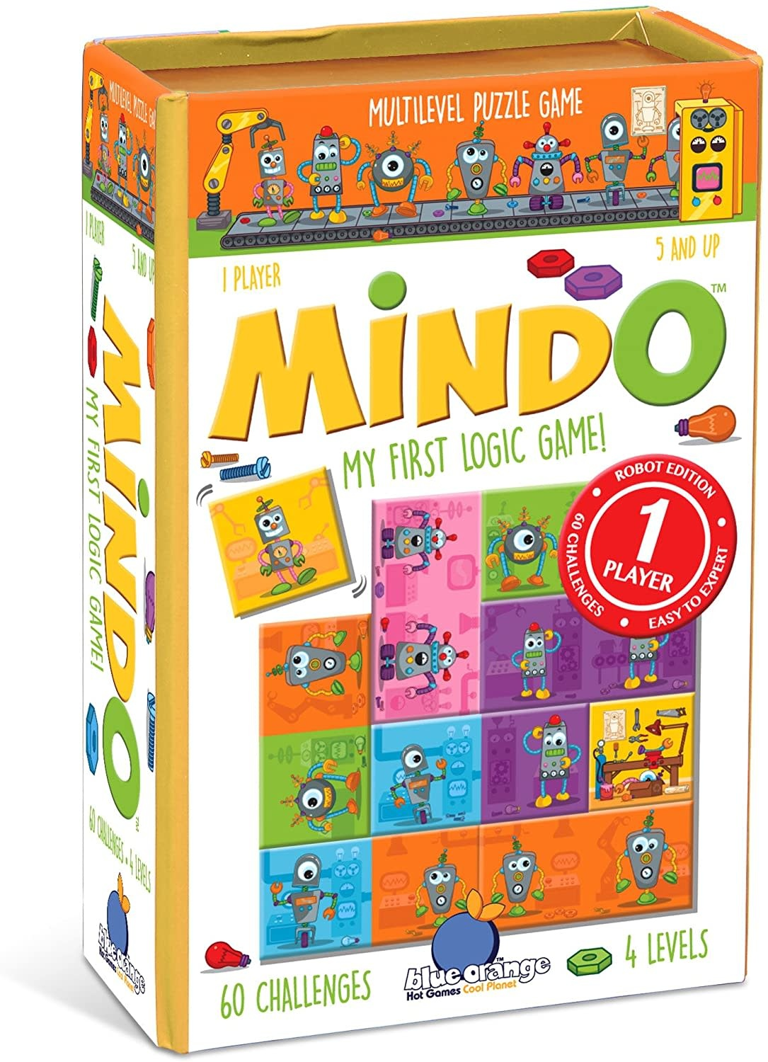Mindo Robot Brainteaser by Blue Orange Games