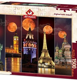Blood Moon 1500-pc Art Puzzle by Heidi