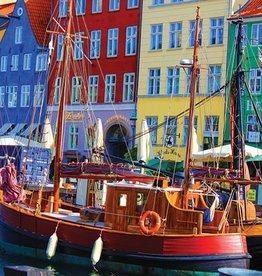 Copenhagen Waterfront 1000-pc Puzzle by Springbok