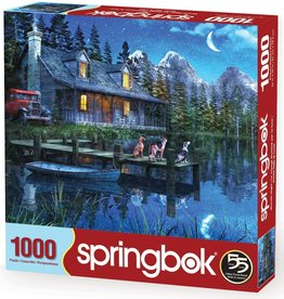 Moonlit Night 1000-pc Puzzle by Springbok
